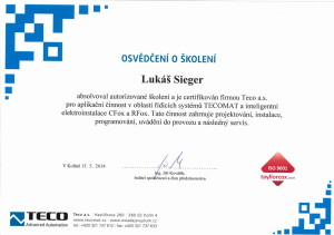 Certifikace_LS_TECO_2014
