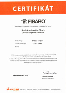 Certifikace_LS_FIBARO_2014