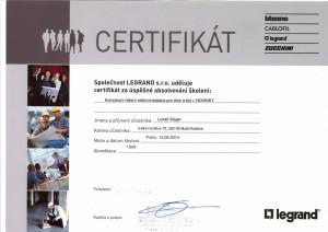 Certifikace_LS_LEGRAND_2014