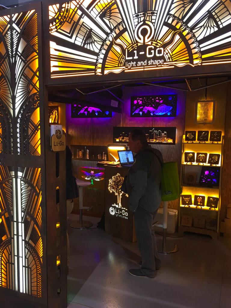 Li-Go na veletrhu For Arch 2019