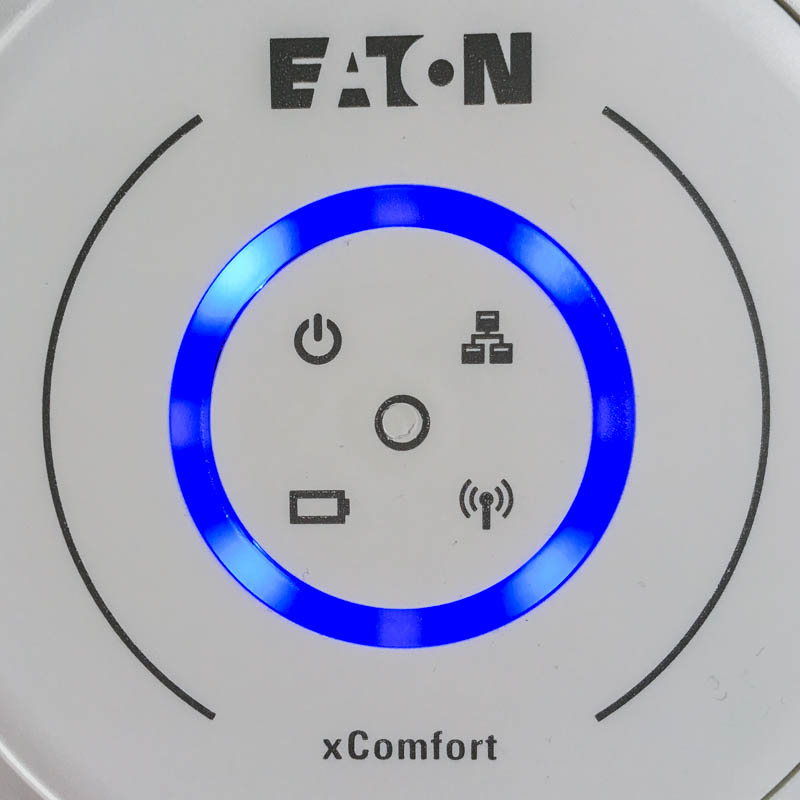 xComfortBridge signalizační LED modrá