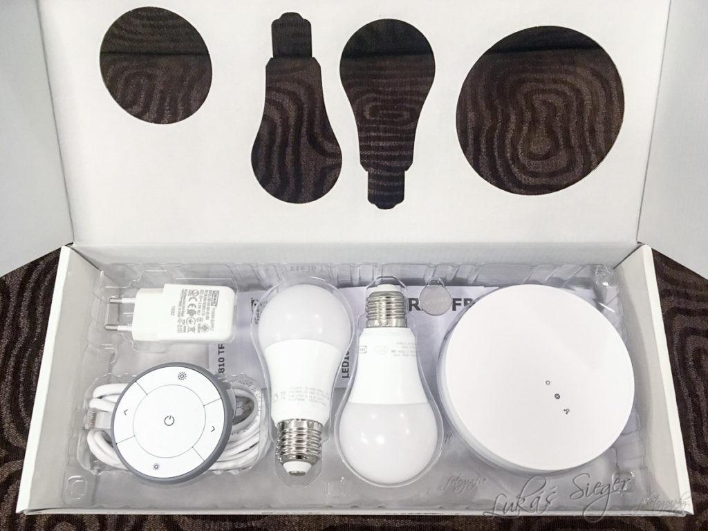 Sada chytrého osvětlení IKEA TRÅDFRI s bezdrátovým vypínačem