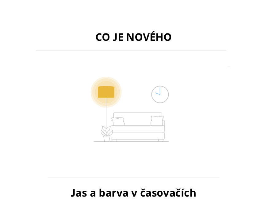 IKEA SmartHome zlepšuje funkci plánovačů